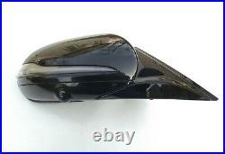 16-20 OEM MERCEDES E W213 COMPLETE MIRROR right / BLACK high gloss / camera FULL