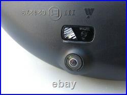 16-20 OEM MERCEDES GLC X253 C253 COMPLETE MIRROR left / BLACK / camera / RHD