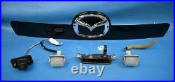 2007-2012 Mazda Cx7 Trunk LID Rear Hatch Emblem Trim Camera Handle Molding Oem