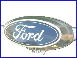 2012-2019 Ford Taurus Rear Trunk Chrome Emblem Camera Back Up Reverse Strip Trim