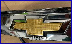 2013-2017 Chevy Traverse Trunk Hatch Trim Garnish Molding Chrome Rear Camera OEM
