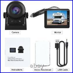 3.5in LCD Monitor + Car Rear View WiFi Wireless Camera Kit Reverse Backup Camera