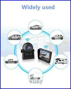 3.5in LCD Monitor + Car Rear View WiFi Wireless Camera Reverse Backup Cam Kit