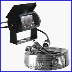 4 CH 9'' Car Monitor 4PIN CCD Reverse Parking Backup Camera +4x Rear View Camera