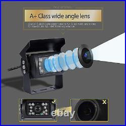 4 CH 9'' Monitor Car Reversing Camera System +4x Backup Camera Car Rear View Kit