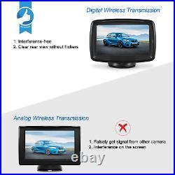 AUTO-VOX TD-2 Digital Wireless Reversing Camera IP68 Waterproof Backup Camera