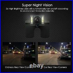 AUTO-VOX Wireless Reverse Camera Kit Car Backup Camera with Rear View Mirror