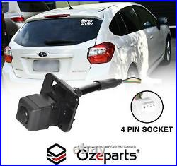 Back Up Rear View Tailgate Reverse Camera For Subaru Impreza G4 Hatch 20112014
