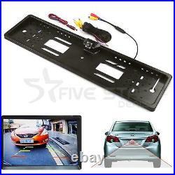 Car Rear 170° Hd View Reversing Camera Backup License Number Plate Cam Parking