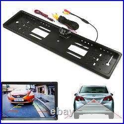 Car Rear View Parking Reversing Camera Backup License Number Plate Night Vision