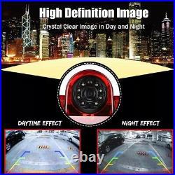 For Fiat Ducato, Reversing Backup Camera Brake Light Night Vision & 7 Monitor