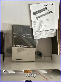 Garmin BC40 Wireless Battery Powered Backup Reversing Camera Unused