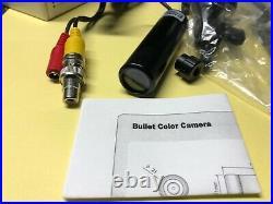 Lipstick Bullet Backup Camera Reversing Mirror Image DC 540tvl bu-5005e OSD Menu