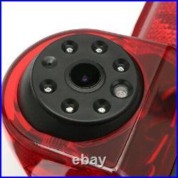 New Reversing Backup Camera Brake Light Night Vision+7 Monitor For Fiat Ducato