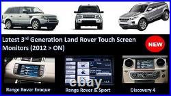 Range Rover Discovery Sport Evoque Reversing Back up Camera Jaguar F Pace