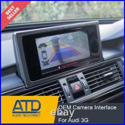 Rear Backup Reverse Cam Camera Integration Kit For Audi 3G A4 A5 A6 A7 A8 Q5 Q7