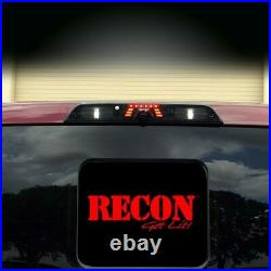 Recon Smoked Lens LED Third Brake Light with Camera For 2017-2020 Ford Super Duty