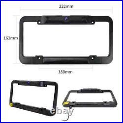 Solar Wireless Reversing Camera Kit 5 Rear View Backup Monitor License Plate