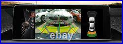 TRSVC BMW Reversing backup camera retrofit 3AG x3 1 3 5 7 F10 F25 F07 F01F30 F20