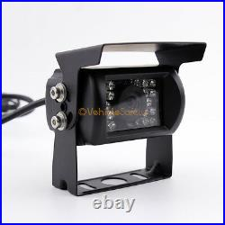 Vehicle Backup Reverse Camera Safety System 9 Monitor With Quad Screen 4 Camera