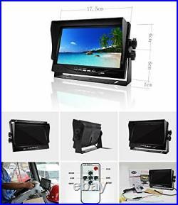 Vehicle backup camera system, 4 Pin 2x Waterproof 18LEDs Night Vision Reversing