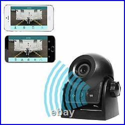 Wireless Reversing Camera, WiFi Magnetic Backup Camera Work with Phone IP68